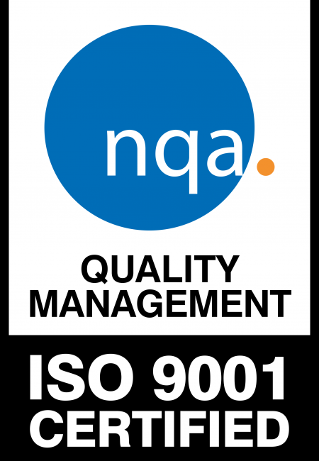NQA certification ISO 9001 : 2015